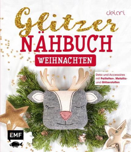 Glitzer-Nähbuch - Weihnachten