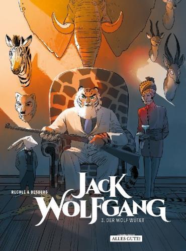 Jack Wolfgang - 3. Der Wolf wütet